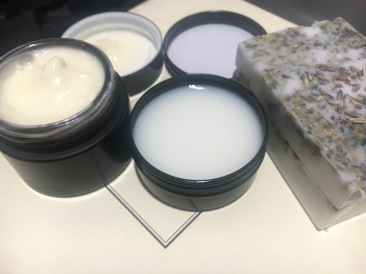 Facial Moisturizer and pain balm